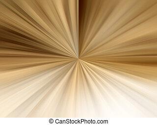 Brown Light Rays