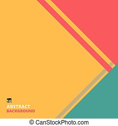 Abstract of colorful plain pattern background with copy space.