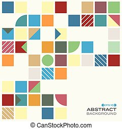 Abstract of colorful with copy space pattern background.