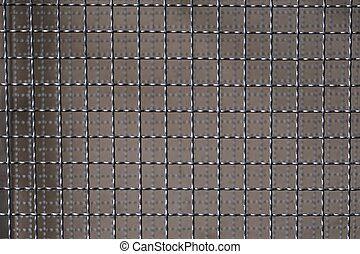iron mesh - abstract of iron mesh for background used