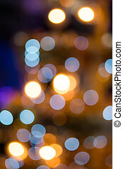 abstract of light bokeh for background