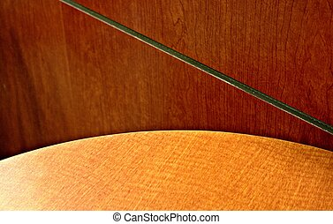 Abstract of lines -- table/chairs