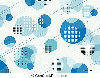 Abstract of simple blue geometric pattern background.