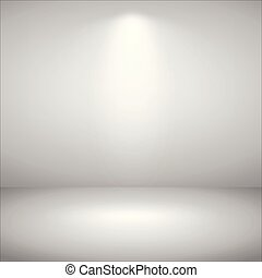 Abstract of sport light gray show room background.
