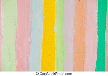 Abstract of watercolor rainbow colors for background
