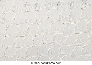 Abstract of white cement wall texture