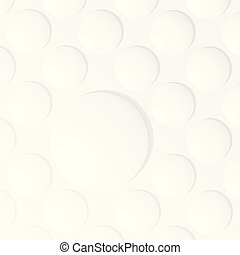 Abstract of white color bubble background.