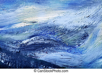 Oil painting texture. Abstract background.