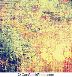 Abstract old background with rough grunge texture. With ...