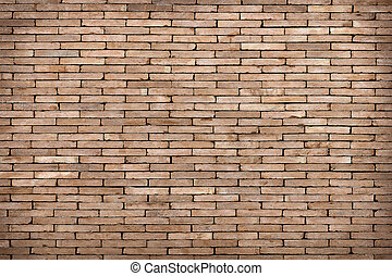 old brown brick wall texture background