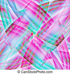 Abstract old chaotic pattern with colorful translucent...