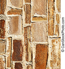 Abstract old stone wall as background