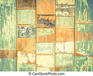 Abstract old wood texture background with vintage filter