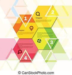 abstract ontwerp, geometrisch