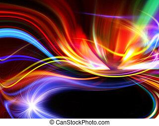 abstract ontwerp, kleurrijke