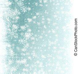abstract ontwerp, sneeuwvlok, achtergrond, jouw