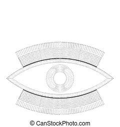 abstract, oog