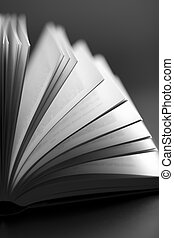 abstract open book background