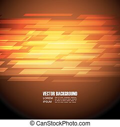 abstract orange background, geometric style