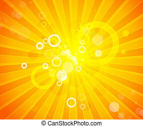Abstract orange background - Vector illustration for your...