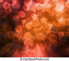 Abstract Orange Background Image