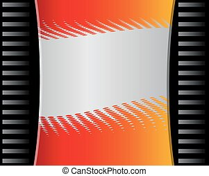 Abstract orange Background template