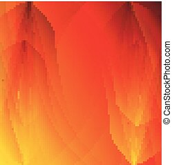 Abstract orange background. Vector