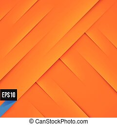 Abstract orange background with lights and shadows