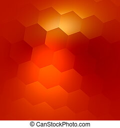 Abstract Orange Colored Background.