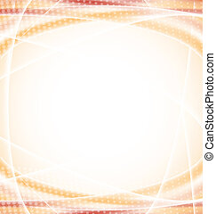 Abstract orange design template
