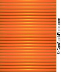 Abstract Orange Ribbed Background Illustration - An orange...