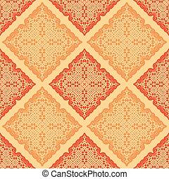 abstract orange seamless pattern