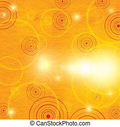 Abstract orange summer background
