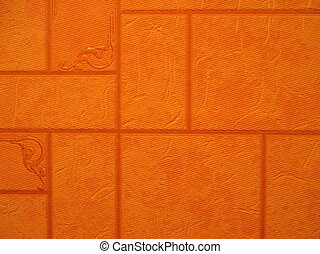Abstract orange textured effect - Orange textured effect on...