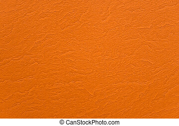 Abstract orange wrinkled paper texture background
