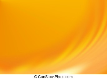 Abstract orange yellow soft wawe background