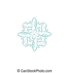 Abstract ornament symbol logo