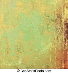 abstract, oud, achtergrond, met, grunge, textuur