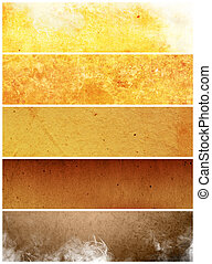 abstract, oud, antieke , , grens, barst, verfrommeld,...