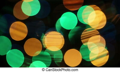 Abstract out focus background with
