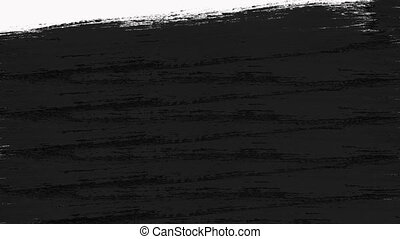 Abstract Paint Brush Transitions Reveal with Luma Matte -...