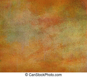 Abstract painted color on paper texture background.