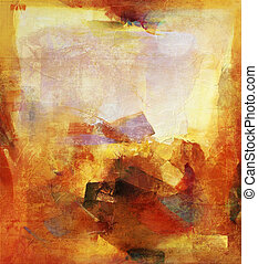 abstract painting - abstract background - created by...