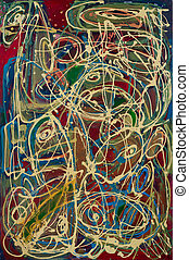 Abstract painting: Abstract Expressionism Reflux - High ...