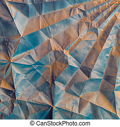 Abstract Painting Art: Strokes with Different Color Patterns like Blue, Black, and White