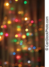 abstract  pale blurred circular bokeh lights background