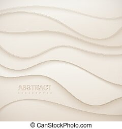 Abstract paper cut background