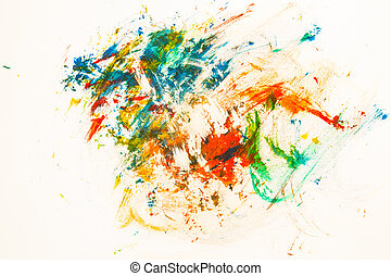 abstract paper painted watercolor background