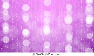 Abstract Particles Bokeh Background.