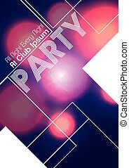 Abstract Party Flyer